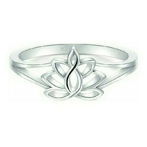 Jewelry - 925 lotus flower ring